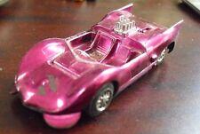 Vintage Plastic Mini Mite Purple Chaparral Race Car 822