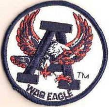 AUBURN WAR EAGLE VINTAGE BUT VIRGIN EMBROIDERED PATCH