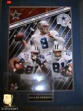 Cowboys 16x20 Double Matted Photo of Jones, Romo, Owens
