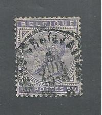BELGIUM # 48 Used KING LEOPOLD II
