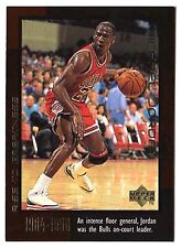 Michael Jordan 1999 Upper Deck RISE TO GREATEST Rookie Basketball Card #17