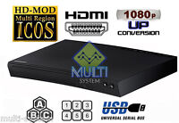Samsung BD-J5100 CODEFREE Multi Zone All Region Free Blu-Ray DVD Disc Player