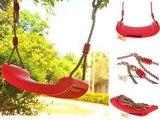 Enfant Extérieur Jardin Plastique balançoires siège arbre à bascule avec pendant