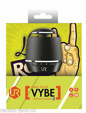 NEW URBAN REVOLT VYBE 19886 WIRELESS BLUETOOTH COMPACT BLACK SPEAKER