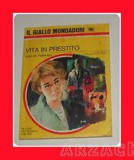 Gialli Mondadori 1104 VITA IN PRESTITO Patterson 1970