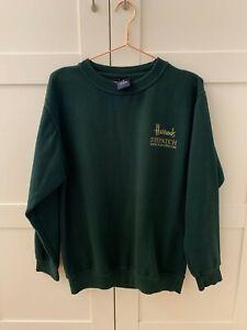 Harrods.com green pullover jumper size S
