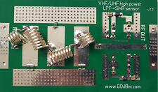 1kw LPF Low Pass Filter, SWR sensor, 70 MHz 4m for LDMOS amplifier
