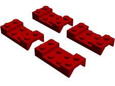 Lego Mudguard x4 Red 2x4 City Car Fire Truck Airport Technic Creator Space