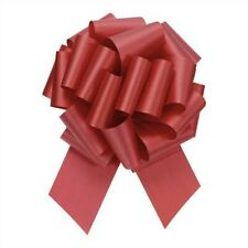 """Red Pull Bows, 50 Count, 4"""", 18 Loops, Satin, Gift wrapping bows"""