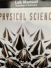 Physical Science Lab Manual Teacher's Manual  BJU Press 5th Edition
