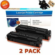 2pk Black Toner for HP CF500A 202A Color LaserJet Pro M254dw M281cdw M281fdw MFP