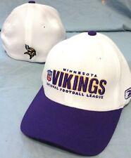 NFL Minnesota Vikings Reebok Flex Hat Cap Purple 4195d6731