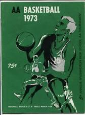 High School Basketball Program Washington Prep WIAA 1973 State AA  East Bremerto