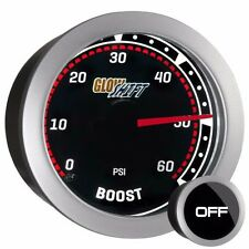 52mm Tinted GlowShift 0 - 60 PSI Diesel Turbo Boost Pressure Gauge - GS-T01_60