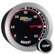 52mm Tinted GlowShift 0 - 60 PSI Diesel Turbo Boost Pressure Gauge - GS-T01_60