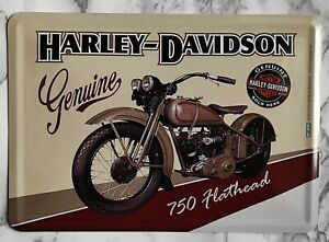 Blechschild Metallschild - Harley-Davidson Nr 9
