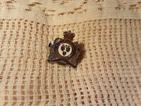 Hat Lapel Pin Fredericton Police to Serve and Protect Silver Tone