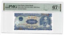 P-108a 1991 5000 Dong,Viet Nam State Bank, PMG 67EPQ SUPERB GEM