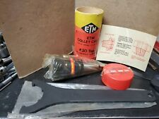 New Etm Collet Chuck Iso30 Er40 Taper Erickson Flange Mill Tool Holder With Wrench