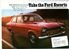 FORD ESCORT MARK 1 SALES BROCHURE 1973