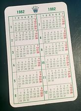 1982 VINTAGE ROLEX calendario DAYTONA 16800 1675 1655 5500 6263 5513 6265 OEM