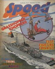 Speed & Power magazine 5 September 1975 Issue 77