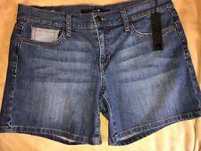 NWT Blue denim Joe's jeans shorts embroidered pockets W 29