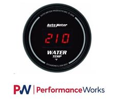 AutoMeter 0-340 °F Sport-Comp Digital Series Water temp. Gauge 2 1/16 in.