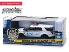 GREENLIGHT 1:43 SCALE 2013 FORD EXPLORER POLICE INTERCEPTOR UTILITY NYPD HTF !