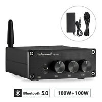 Nobsound Mini Bluetooth Digital Amplifier HiFi Stereo Audio Power Amp 100W+100W