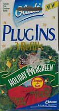 1 Box Glade Plugins Electric Gel 3 Refills Holiday Evergreen Plug Ins