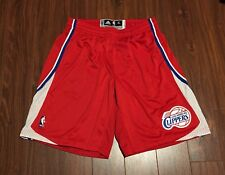 Los Angeles Clippers Red Adidas Authentic Shorts Men's XL +2 NWOT Griffin Jordan