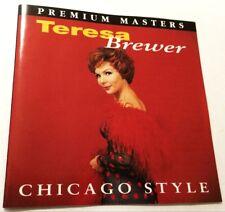 TERESA BREWER & THE DIXIELAND BAND Chicago Style CD 1958 album oz RARE Coral