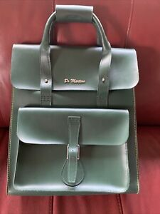 Dr Martens RARE Green Leather Bag, Great Condition