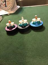 McDonald's 1996 Disney's Mighty Ducks Hockey Pucks - Lot Of 3