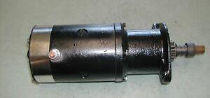 42' - 49' Willys CJ 2, CJ 2A Jeep 6 volt starter rebuilt MZ 4113