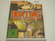 !!! NINTENDO Wii SPIEL North American Hunting, gebraucht aber GUT !!!