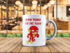 Ceramic Coffee Mug 11 Oz  Mug Bitch Please I'm The Flash Cute Coffee Mug