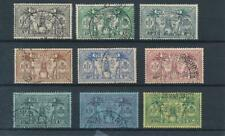 [56298] New Hebrides 1925 good set Used Very Fine stamps $75