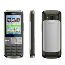 NOKIA C5-00 GRAY 5.0MP GSM BLUETOOTH HSDPA POPULAR 3G UNLOCKED SMARTPHONE