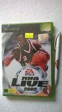 MICROSOFT XBOX SEALED NBA LIVE 2002