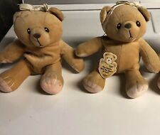 Enesco Cherished Teddies Plush Lot Of 2