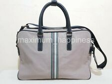 PAUL SMITH CANVAS AND LEATHER SOFT BRIEFCASE / LAPTOP BAG - AUTHENTIC