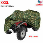 3XL Camo ATV Cover Waterproof Cover Fits For Yamaha Grizzly 550 450 350 700 660