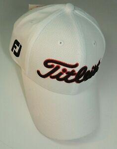 NEW 2021 Titleist Tour Hat White Custom Fit & Custom Built Free Shipping!