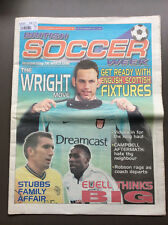BRITISH SOCCER WEEK Issue#792 July 2001 Richard Wright Campbell Stubbs Euell