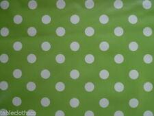 Manteles redondas color principal verde