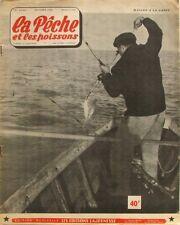 La Pêche et les Poissons n°130 - 1956 - Saumons Irlandais - Le Flet commun