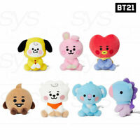 BTS BT21 Official Authentic Goods Sitting Doll 12cm Baby Ver + Tracking Code