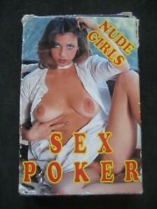 EROTIC PLAYING CARDS, SPIELKARTEN. ADULTS Nº25